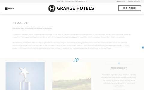 Luxury Hotels in London City Centre | Grange Hotels