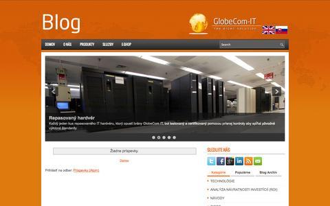 Screenshot of Blog globecom-it.com - GlobeCom IT - captured Oct. 27, 2014