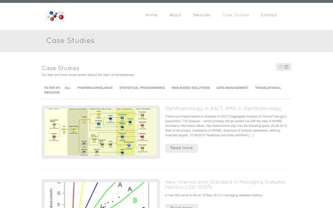 Screenshot of Case Studies Page planimeter.hu - Case Studies - Planimeter - captured Sept. 30, 2014