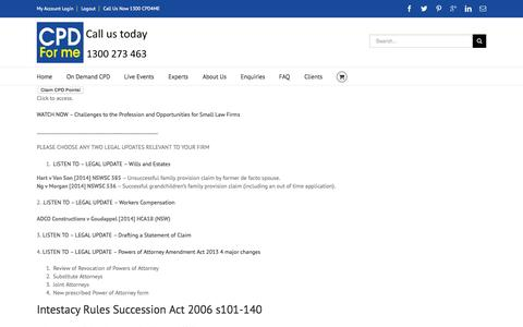 Screenshot of Trial Page cpdforme.com.au - 2 Week Free Trial - CPD for Me - Online Simple and Easy - captured July 17, 2015
