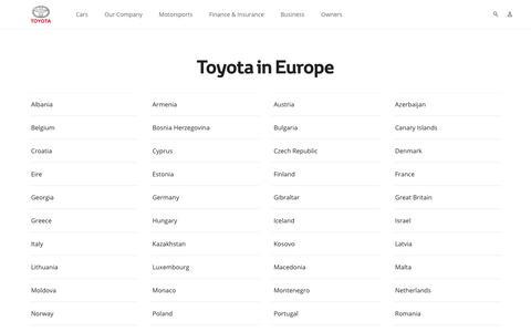 Toyota in Europe