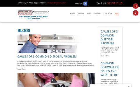 Screenshot of Blog jensenappliance.com - Blogs - captured Oct. 24, 2018