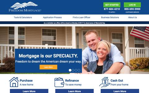 FHA Loan | VA Loan | Conventional Mortgage - Freedom Mortgage