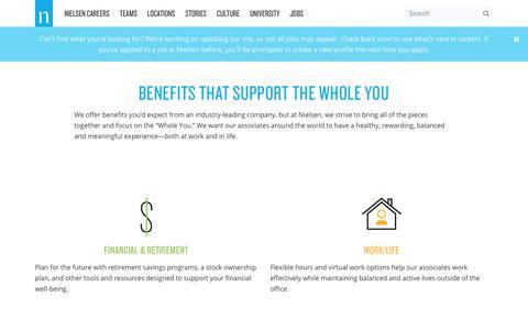 Benefits – Nielsen Careers