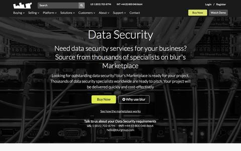 Data Security Services | blur Group