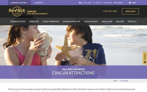Cancun  Attractions | Hard Rock Hotel Cancun