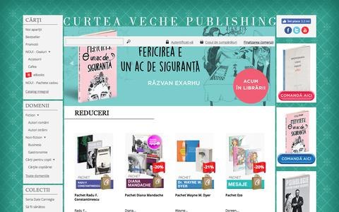 Screenshot of Home Page curteaveche.ro - Curtea Veche - captured June 23, 2017