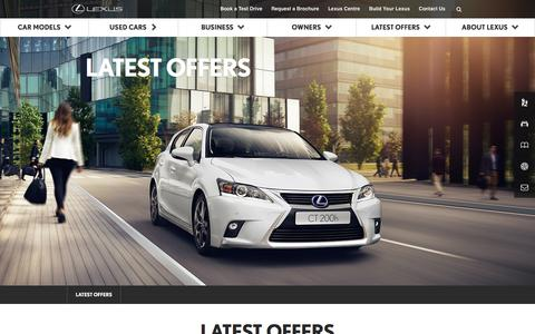Latest Lexus Offers | Lexus UK
