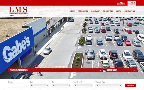 Screenshot of Home Page lms-pma.com - LMS-PMA Home Page - captured Oct. 8, 2016