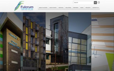 Screenshot of Case Studies Page fulcrumgroup.co.uk - Case Studies | Fulcrum Group - captured Feb. 8, 2016