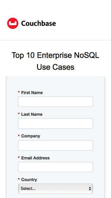Top 10 Enterprise NoSQL Use Cases