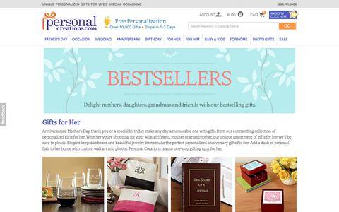 Personalized Gifts for Women at Personal Creations
