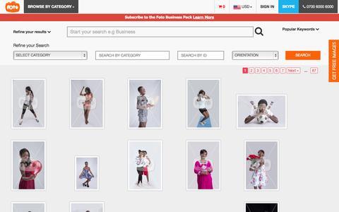 Screenshot of Team Page foto.com.ng - Foto - captured Oct. 30, 2014