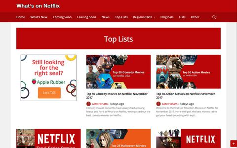 Top Lists - Whats on Netflix