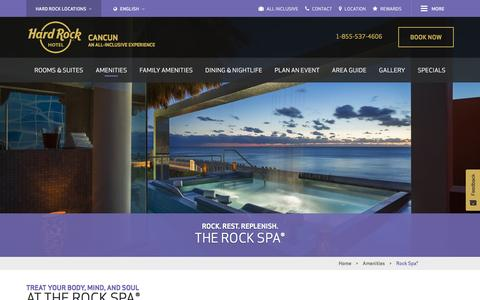 Spa Resorts in Cancun, Mexico - Rock Spa®