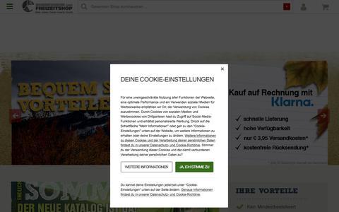 Screenshot of Home Page bw-online-shop.com - BW Online Shop – Bundeswehr, US Army, Militär & Armee Shop! - captured Sept. 23, 2018