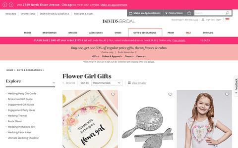 Flower Girl Gifts | David's Bridal