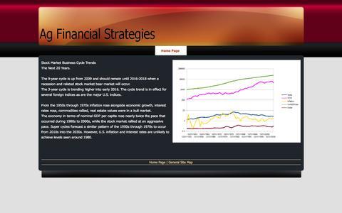 Screenshot of Home Page ag-financial.com - AFS - captured Feb. 5, 2016
