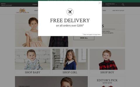 Designer Children's Clothes | Childrensalon
