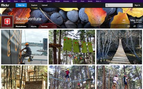 Screenshot of Flickr Page flickr.com - Flickr: tecni-aventura's Photostream - captured Oct. 25, 2014