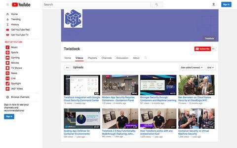 Twistlock  - YouTube