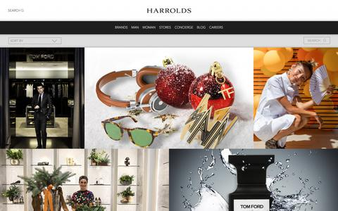 Screenshot of Blog harrolds.com.au - Blog | Harrolds - captured July 14, 2018