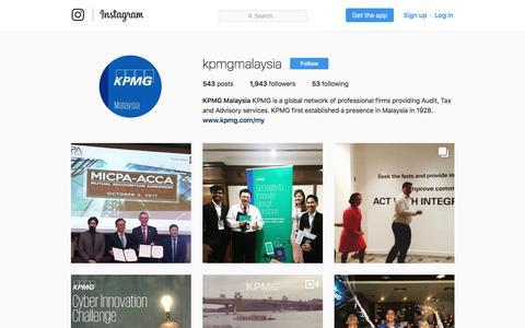 KPMG Malaysia (@kpmgmalaysia) • Instagram photos and videos