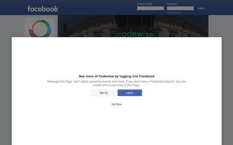 Codewise   Facebook