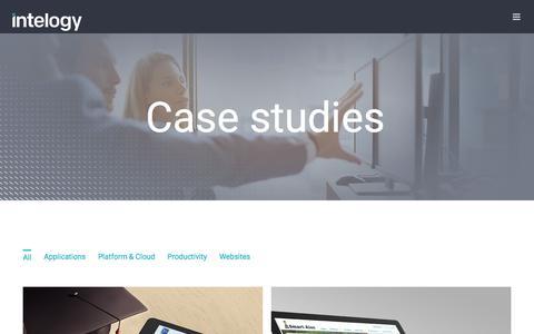 Case Studies | Intelogy