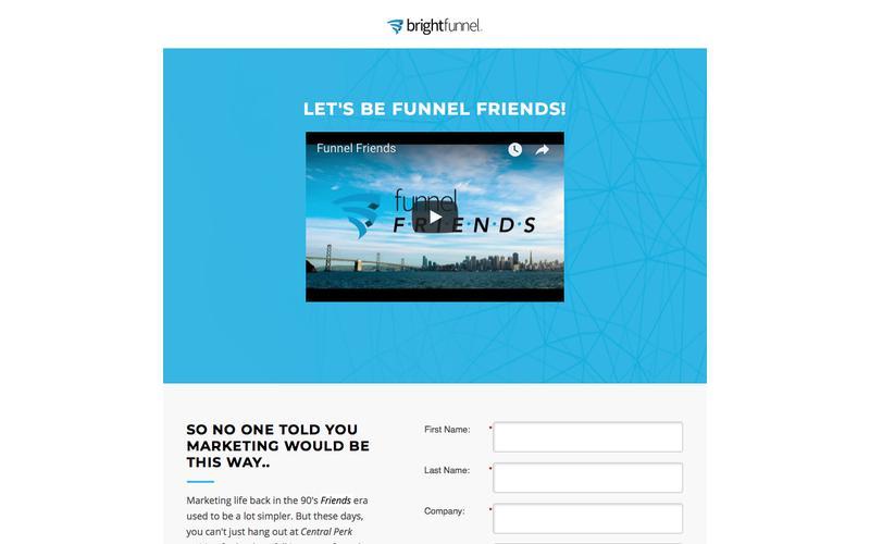 BrightFunnel - Landing Page
