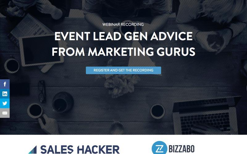Live Event Lead Generation: Advice from Marketing Gurus | Bizzabo