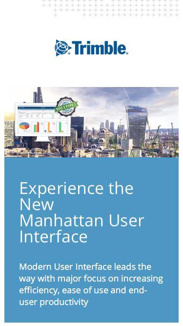 Manhattan v35 - New User Interface
