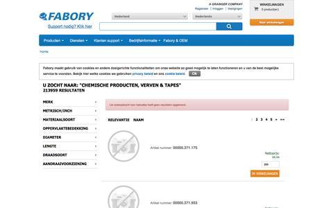 Bij Fabory bestelt u Chemische producten, verven & tapes van hoge kwaliteit | Fabory, Nederland
