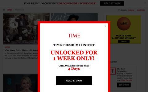 Entertainment | Time.com
