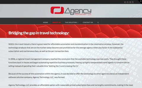Screenshot of About Page agency-technology.com - About Us | Agency Technology - captured Nov. 20, 2016