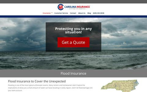 Flood Insurance - Carolina Insurance