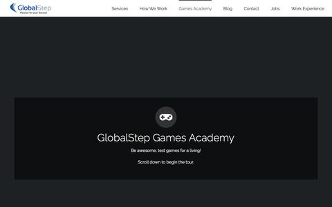 Screenshot of Team Page globalstep.co.uk - GlobalStep UK - Games Academy - captured June 19, 2019