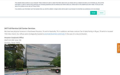 Screenshot of Locations Page westparkcom.net - Locations - captured Oct. 18, 2018