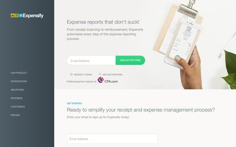 Expensify - Expense reports that don't suck!