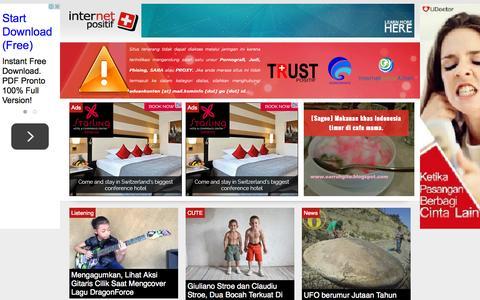 Screenshot of Home Page internet-positif.org - Internet Positif - captured Sept. 25, 2015