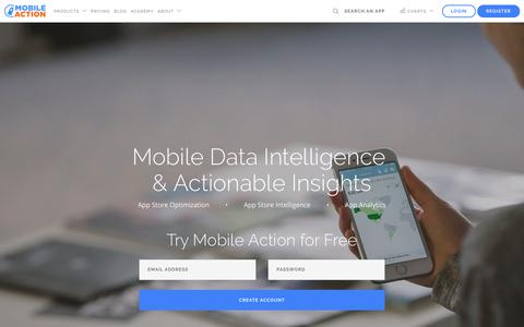 Mobile Action - Mobile Data Intelligence, ASO, and App Analytics