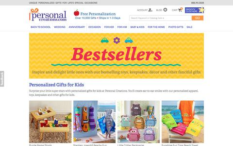 Personalized Gifts for Kids - Kids Gifts | Personal Creations