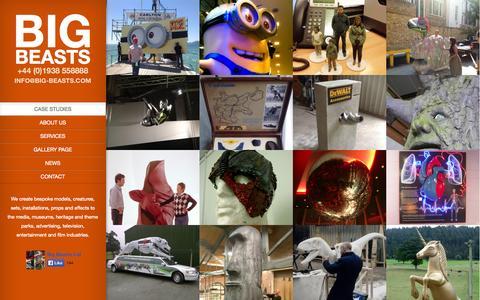 Screenshot of Case Studies Page big-beasts.com - Big Beasts - captured Oct. 5, 2014