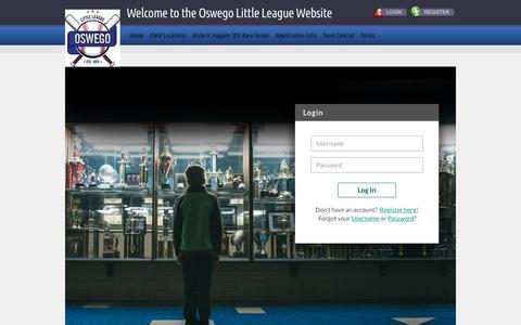 Screenshot of Login Page bluesombrero.com - Login/Register - captured Oct. 23, 2018