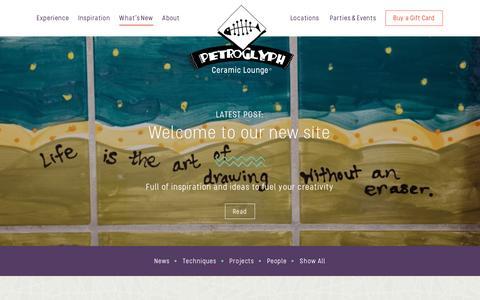 Screenshot of Press Page petroglyph.com - Personalize Your Presents   Petroglyph - captured Nov. 5, 2016