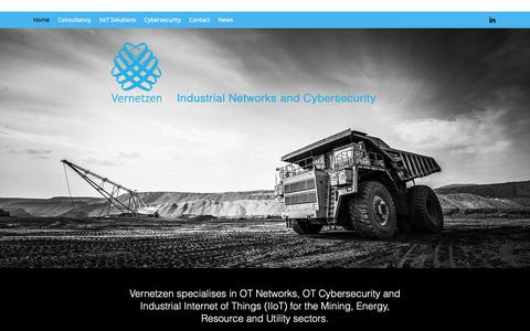 Screenshot of Home Page vernetzen.com.au - Industrial Networks | Australia | Vernetzen - captured May 30, 2019