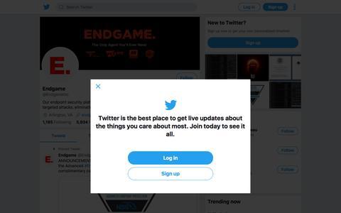 Tweets by Endgame (@EndgameInc) – Twitter