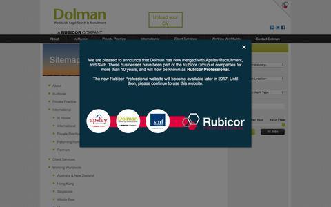 Dolman Sitemap