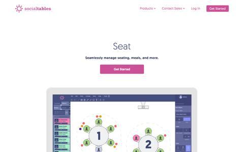 Seating Chart Software for Event Planners | Social Tables