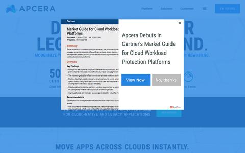 Apcera - Enterprise Grade Container Management